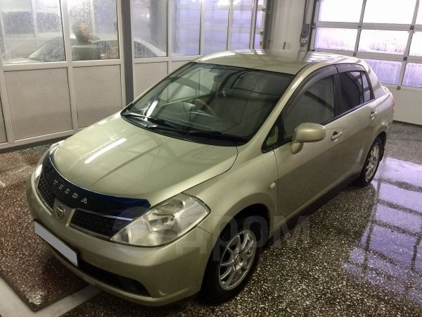 Nissan Tiida Latio, 2006 год, 320 000 руб.