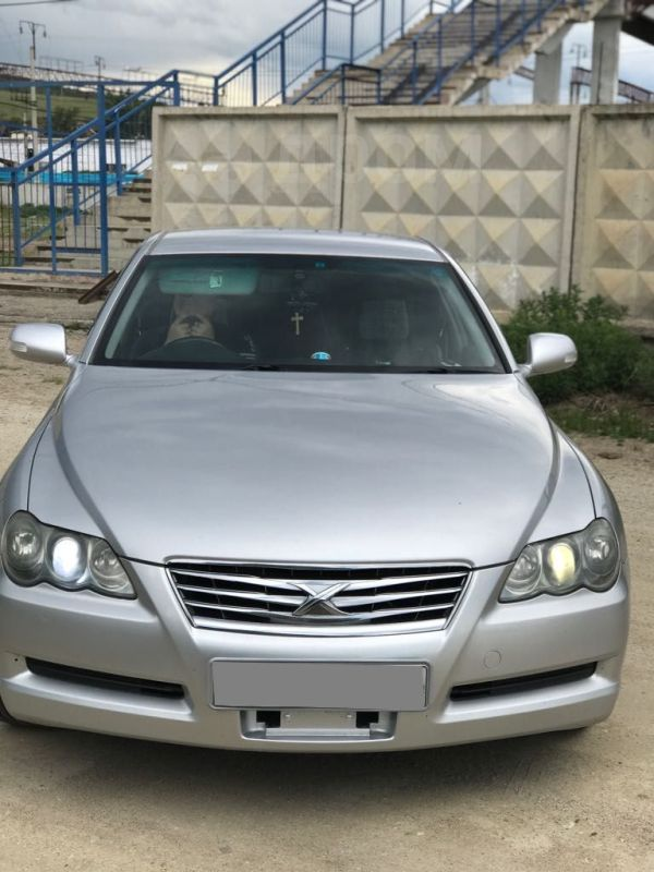Toyota Mark X, 2007 год, 640 000 руб.