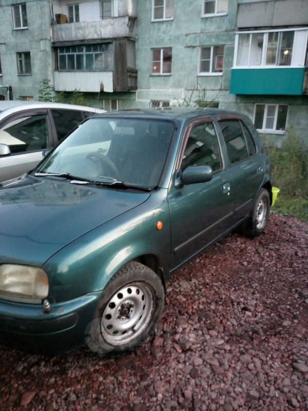 Nissan March, 1996 год, 80 000 руб.