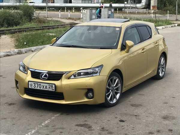 Lexus CT200h, 2013 год, 1 140 000 руб.