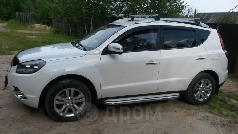 Geely Emgrand X7, 2016 год, 620 000 руб.
