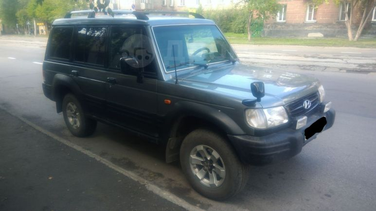 Hyundai Galloper, 2001 год, 320 000 руб.
