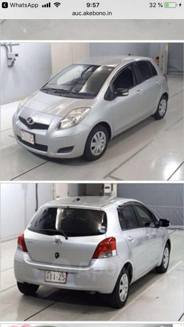 Toyota Vitz, 2009 год, 415 000 руб.