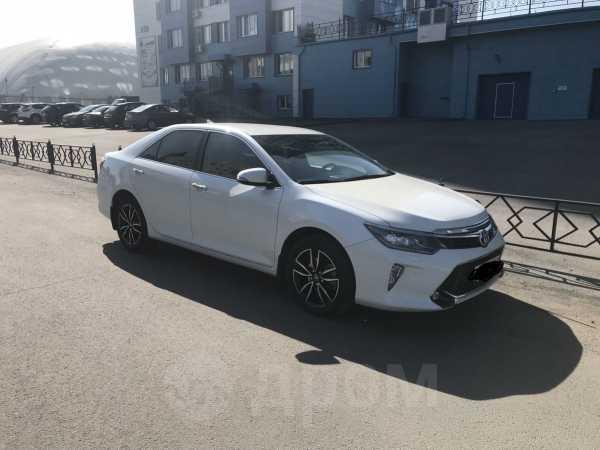 Toyota Camry, 2017 год, 1 680 000 руб.