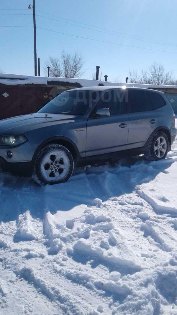 BMW X3, 2007 год, 565 000 руб.