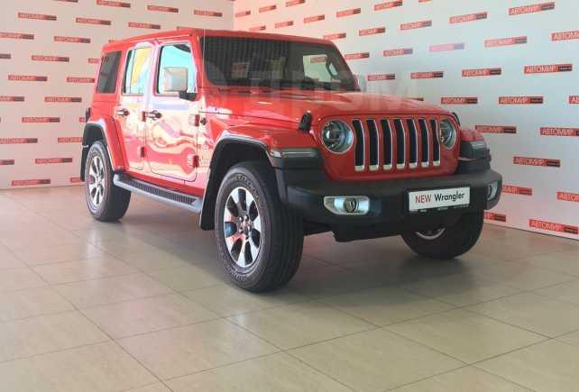 Jeep Wrangler, 2018 год, 4 858 500 руб.