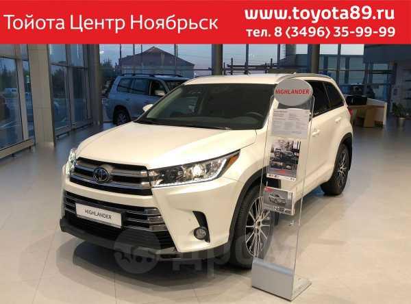 Toyota Highlander, 2018 год, 3 662 000 руб.