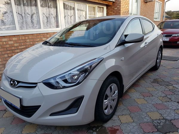 Hyundai Elantra, 2014 год, 730 000 руб.
