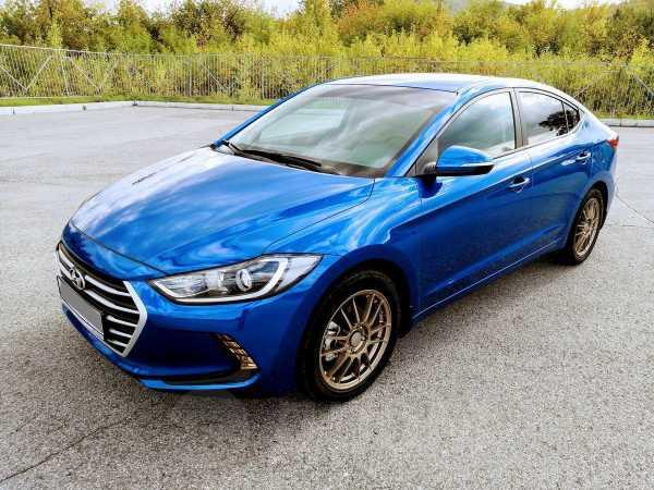 Hyundai Elantra, 2018 год, 1 101 000 руб.