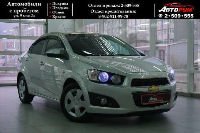 Chevrolet Aveo, 2013 год, 467 000 руб.