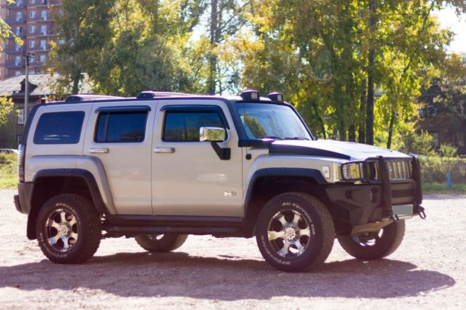 Hummer H3, 2007 год, 1 000 000 руб.