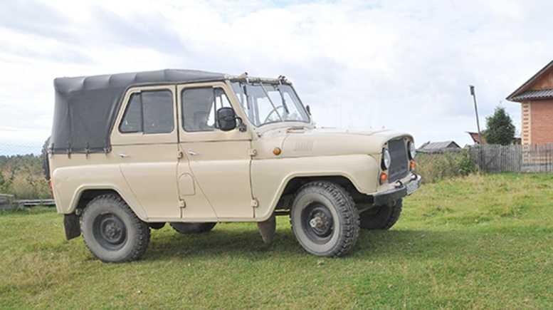 УАЗ 469, 1989 год, 90 000 руб.