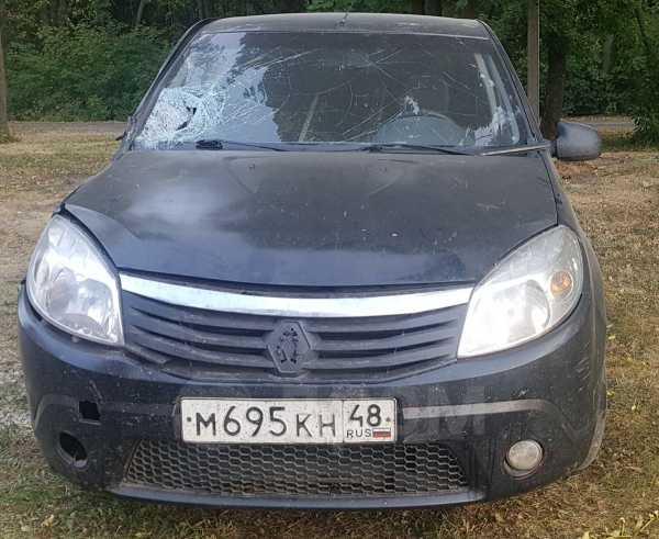 Renault Sandero, 2010 год, 95 000 руб.