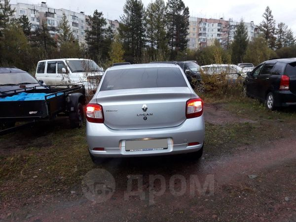 Renault Logan, 2015 год, 580 000 руб.