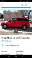 Toyota Matrix, 2003 год, 329 000 руб.