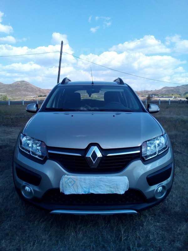 Renault Sandero Stepway, 2015 год, 595 000 руб.
