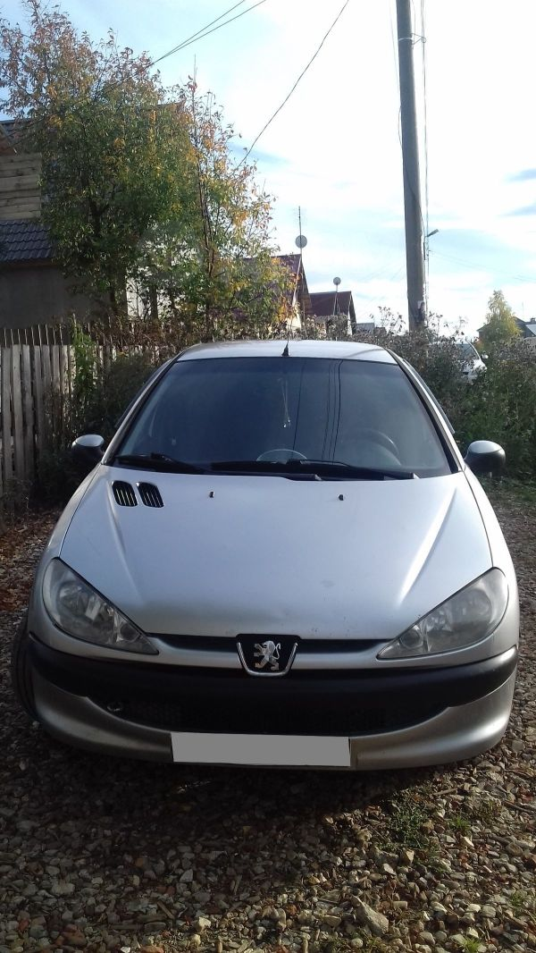 Peugeot 206, 2004 год, 115 000 руб.