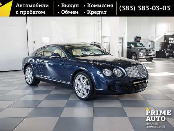 Bentley Continental GT, 2009 год, 4 000 000 руб.