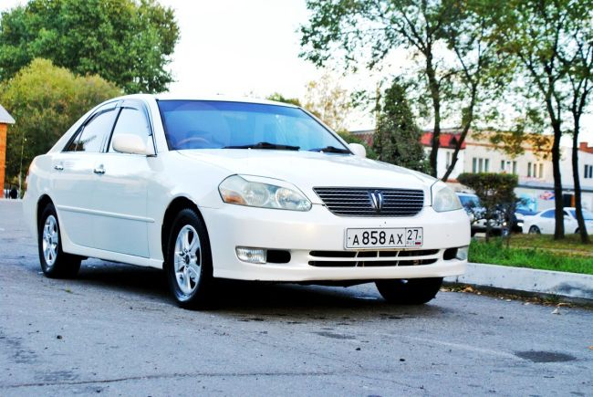 Toyota Mark II, 2002 год, 410 000 руб.