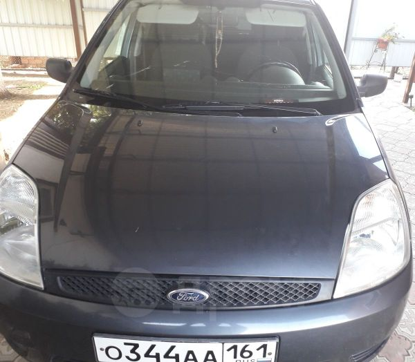 Ford Fiesta, 2004 год, 215 000 руб.