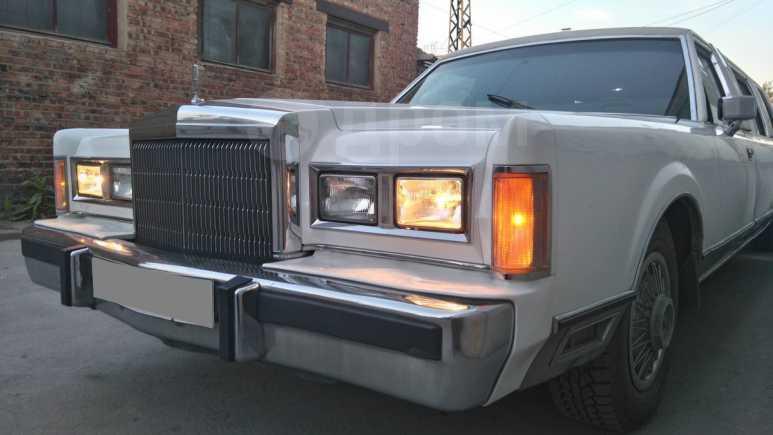 Lincoln Town Car, 1989 год, 750 000 руб.