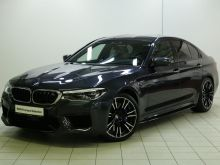 Москва BMW M5 2018
