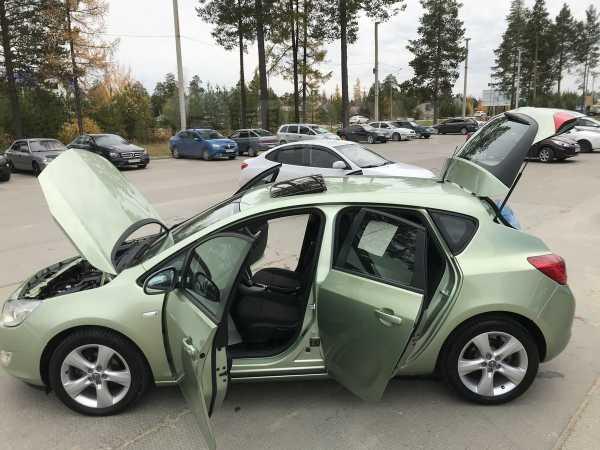 Opel Astra, 2011 год, 489 000 руб.