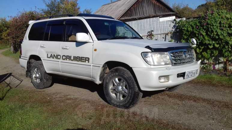 Toyota Land Cruiser Cygnus, 2000 год, 850 000 руб.