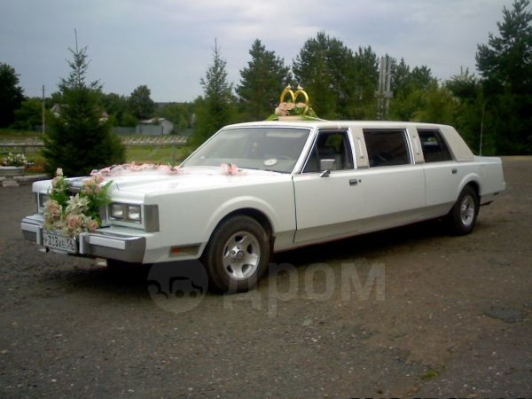 Lincoln Town Car, 1989 год, 450 000 руб.