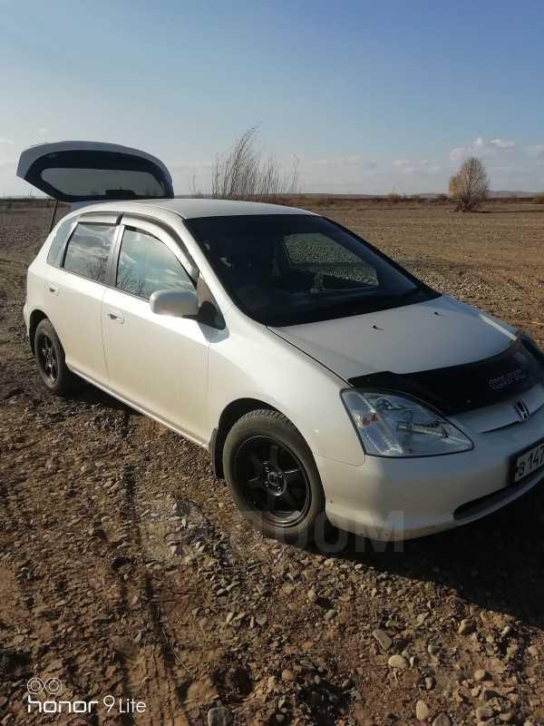 Honda Civic, 2002 год, 280 000 руб.