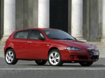 Alfa Romeo 147 рестайлинг 2004, хэтчбек, 1 поколение, 937B