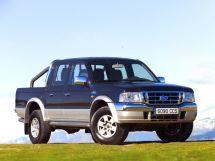 Ford Ranger рестайлинг 2003, пикап, 3 поколение