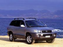 Hyundai Santa Fe 1 поколение, 06.2000 - 07.2004, Джип/SUV 5 дв.