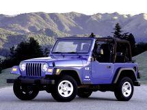 Jeep Wrangler 1996, джип/suv 3 дв., 2 поколение, TJ