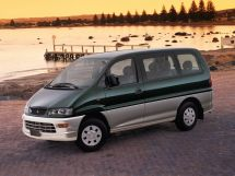 Mitsubishi Space Gear рестайлинг 1997, минивэн, 1 поколение