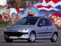 Peugeot 206 1 поколение, 05.1998 - 02.2003, Хэтчбек 3 дв.