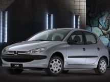 Peugeot 206 1 поколение, 05.1998 - 02.2003, Хэтчбек 5 дв.