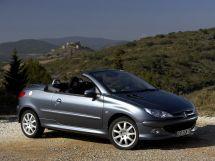 Peugeot 206 рестайлинг 2003, открытый кузов, 1 поколение