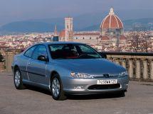 Peugeot 406 рестайлинг 2001, купе, 1 поколение
