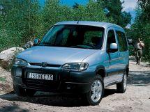 Peugeot Partner 1996, минивэн, 1 поколение