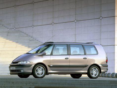 Renault Espace (JE0) 09.2000 - 09.2002