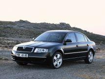 Skoda Superb 2001, седан, 1 поколение, 3U