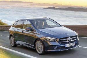 Новый B-Class от Mercedes-Benz получил электронику от S-Class