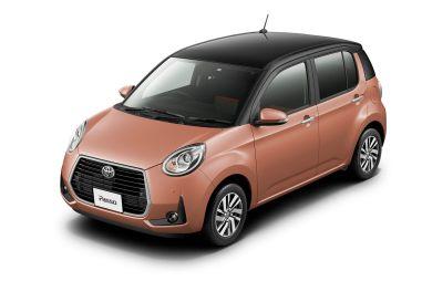 Toyota Passo модернизировали: появились новые бамперы и система предотвращения ДТП