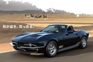 Mitsuoka Rock Star: взять чуть-чуть Mazda MX-5 и добавить много Chevrolet Corvette
