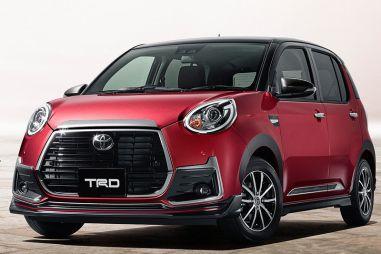 TRD и Modellista выпустили тюнинговые комплекты для Toyota Passo