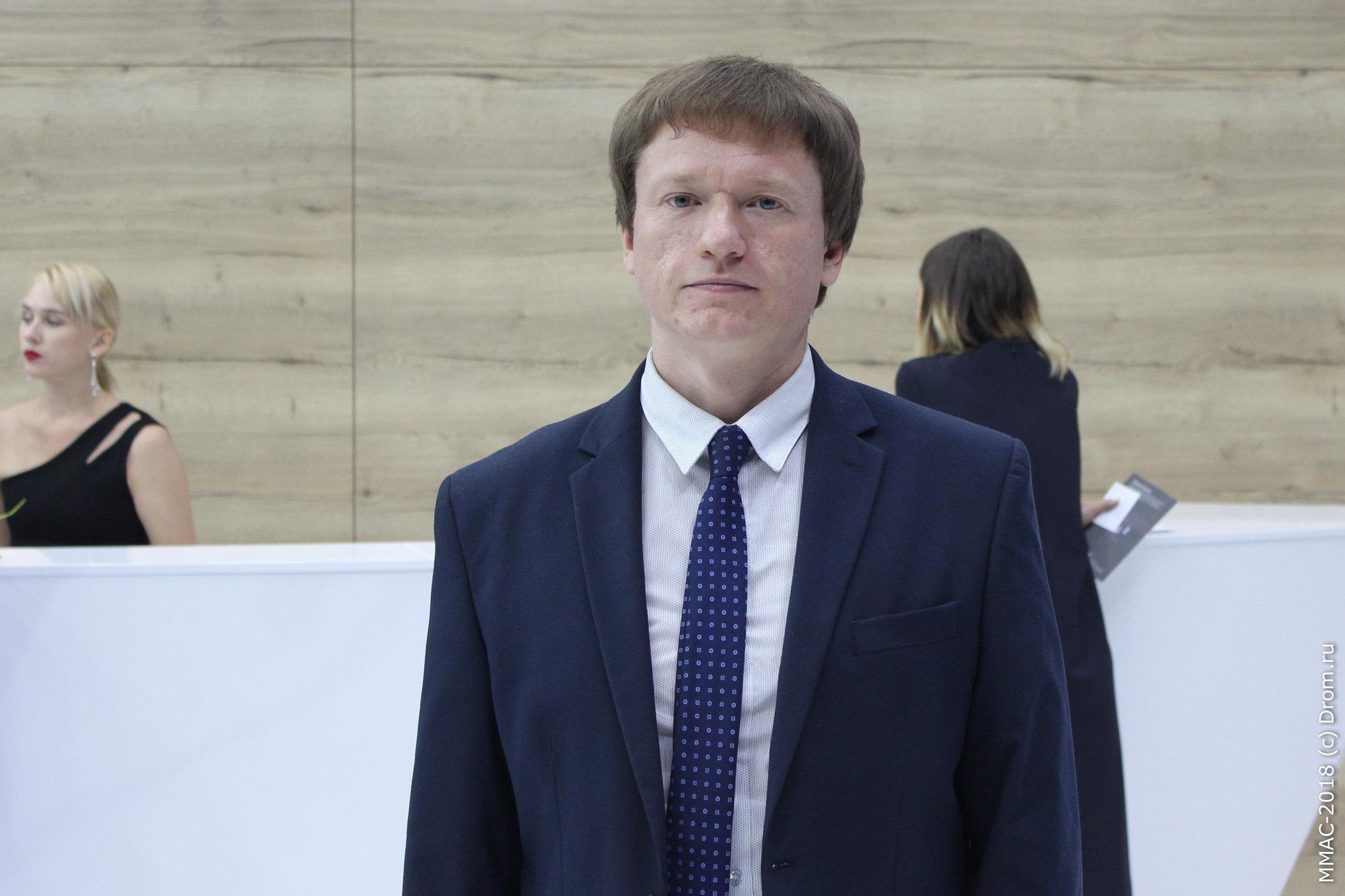 Денис Ендачев, главный конструктор по интеллектуальным системам для  автомобилей проекта ЕМП c4860ea5440