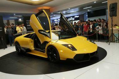 В Иране разработали почти точную копию Lamborghini образца 2001 года (ВИДЕО)