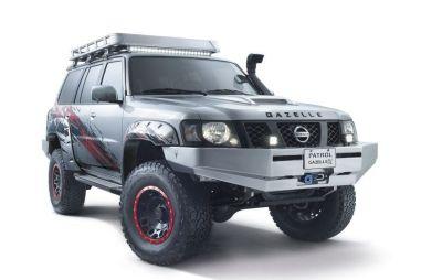 Арабский Nissan Patrol получил новые версии, в том числе с названием «Газель»