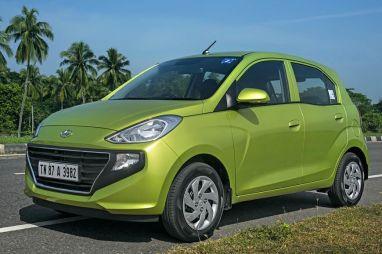 Hyundai начал продажи городского хэтчбека Santro